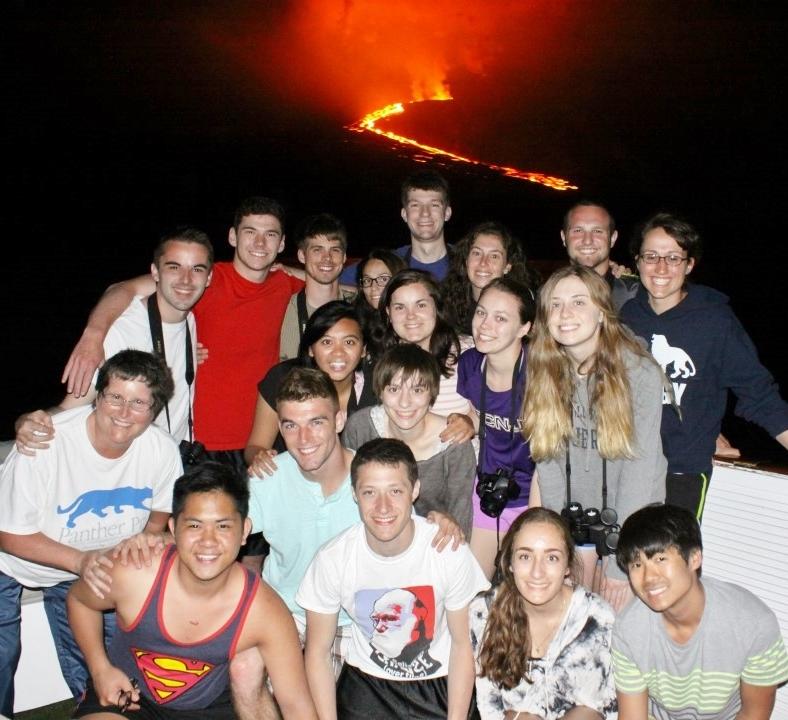 TCNJ Galapagos Program experiences volcanic eruption.crop