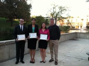 Erickson lab awards 10-13